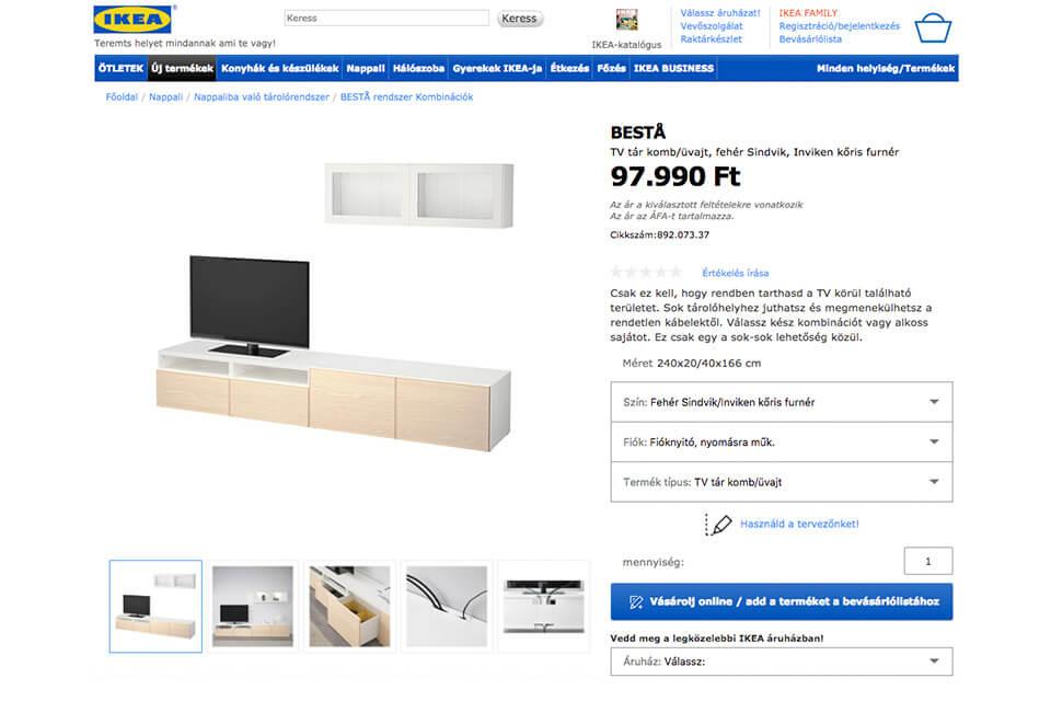 IKEA TV szekrény