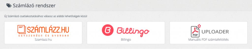 Billingo integráció a Webshippy rendszeréhez