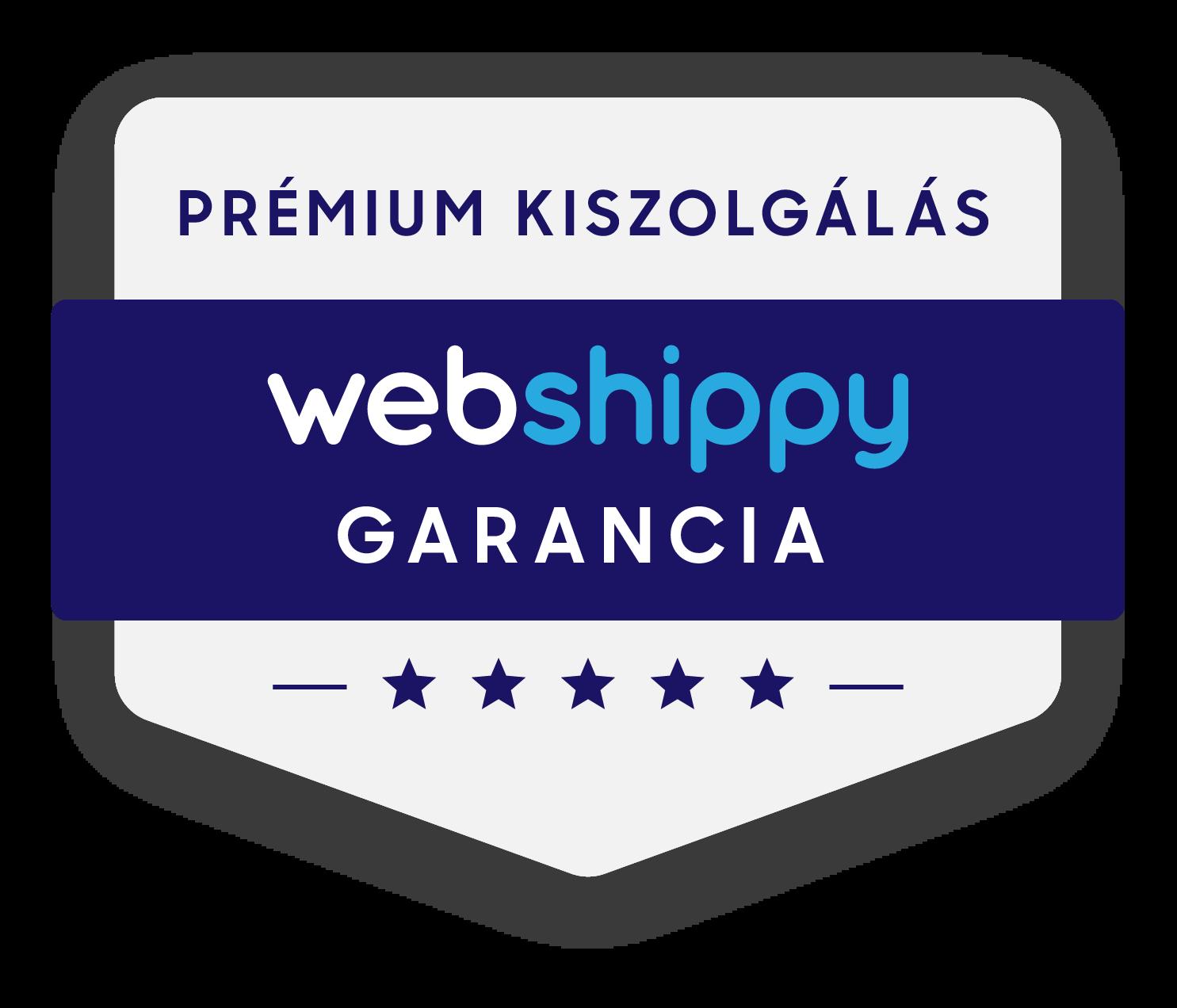 webshippy garancia logo, kiszervezett logisztika