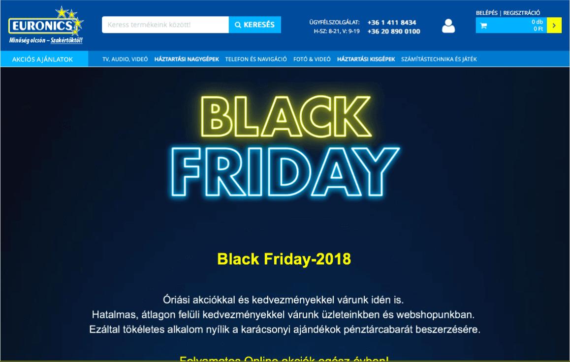 black friday euronics