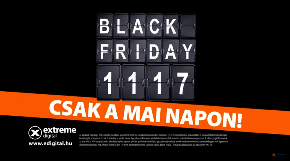 extreme digital black friday-kampany
