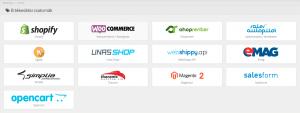 OpenCart integráció kiválasztása
