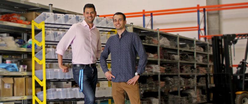 Perényi András és Vorobcsuk Zoltán a Budapest Business Journail hasábjani